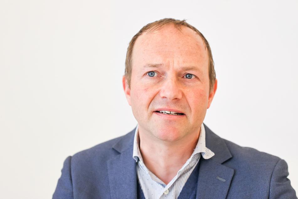 Sachsens Umweltminister Wolfram Günther (48, Grüne). (Archivbild)