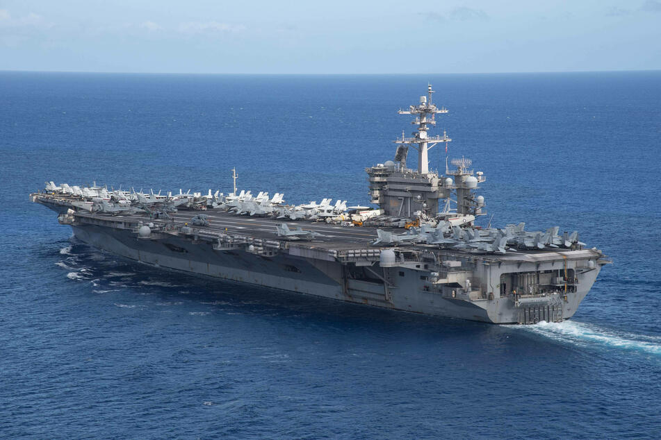 China slams US for sending aircraft carriers to disputed waters
