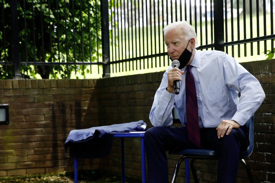 Präsidentschaftskandidat Joe Biden (77). (Archivbild)