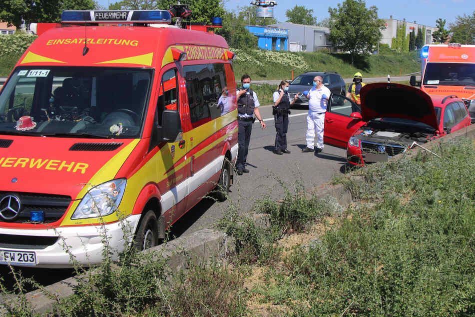 Biker bei Unfall schwer verletzt: Autobahn 659 voll gesperrt