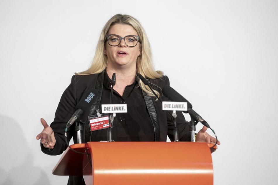 Susanne Schaper (42, Die Linke) fordert eine Grundsicherung für Kinder und Jugendliche.