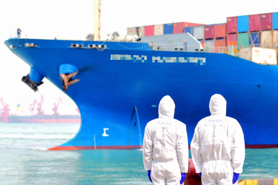 Mord auf Containerschiff? Tod von Frachter-Kapitän gibt Rätsel auf