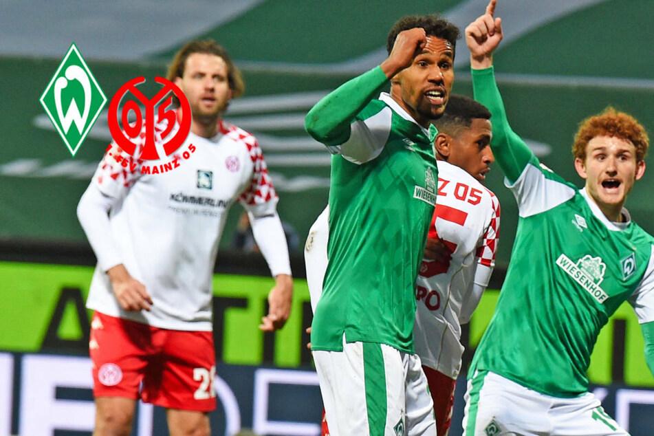 Werder Bremen unterliegt Mainz 05 im Abstiegs-Krimi und hadert mit dem VAR