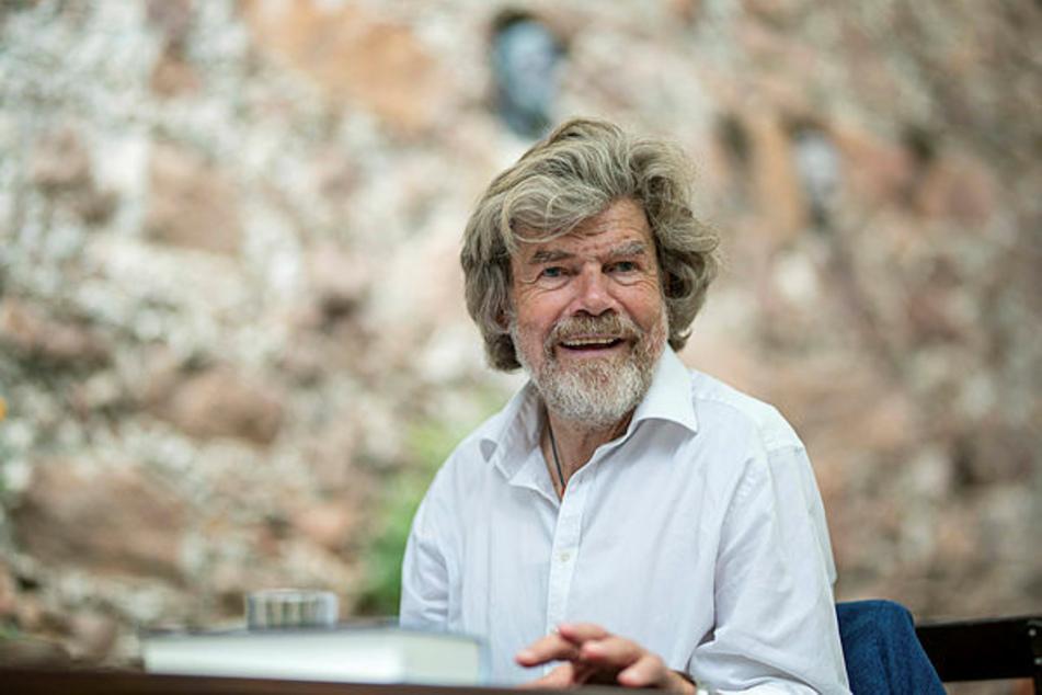 Bergsteiger-Urgestein Reinhold Messner (75) kommt nach Dresden.