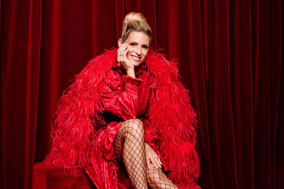 Moderatorin Michelle Hunziker ist voller Vorfreude auf die Show-Weltpremiere.