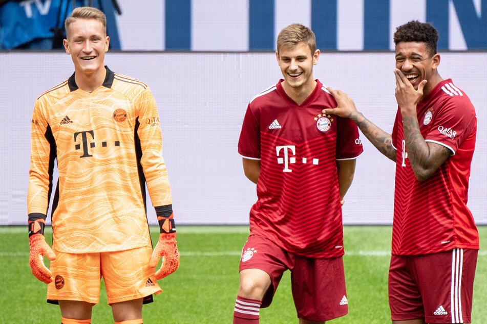 Ron-Thorben Hoffmann (22, l.) und Chris Richards (21, r.) sind vom FC Bayern München am Deadline Day des Sommer-Transferfensters verliehen worden.