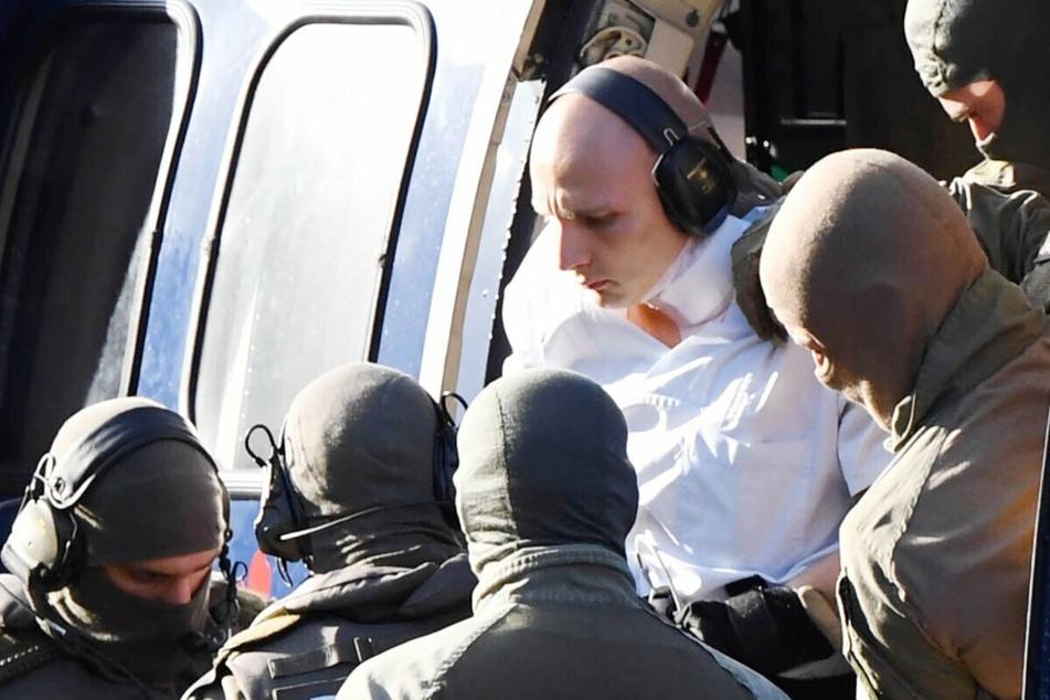 Halle-Attentäter Stephan B. klettert über Gefängnis-Zaun