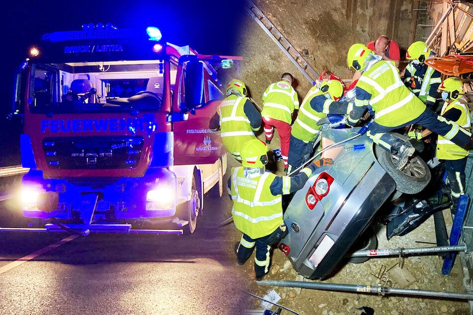 Feuerwehr-Kameraden retten Insassen nach Unfall, jetzt müssen sie in Quarantäne!