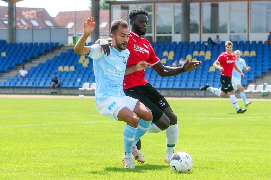 Furkan Kircicek (l.) erzielte den Ausgleich für den CFC.