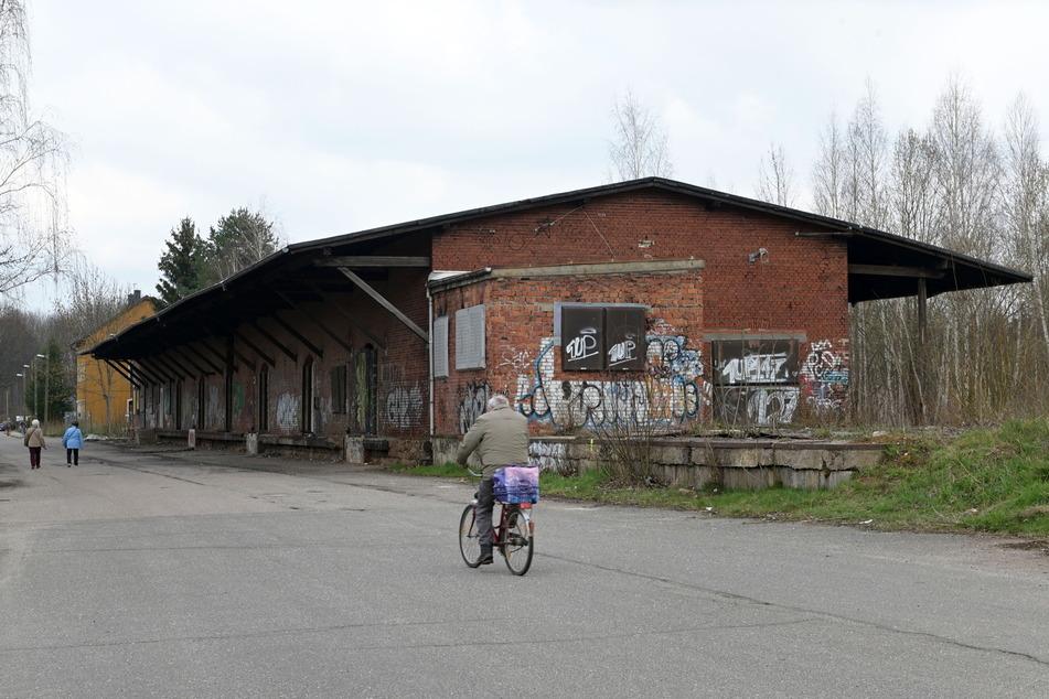 Hier sollen sich im August die Kunstfreunde tummeln: der Güterbahnhof Altendorf.