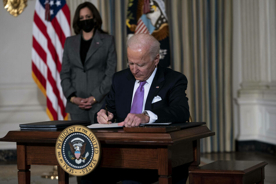 Biden signed a new set of executive orders on Tuesday seeking to promote greater racial equity in the United States.