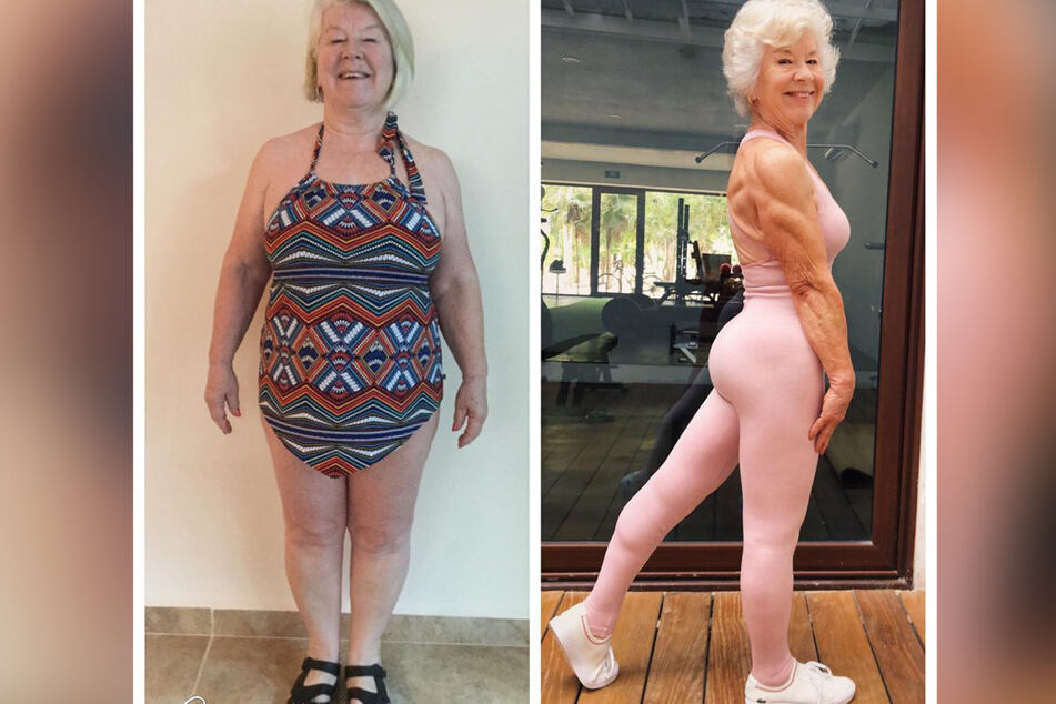Joan MacDonald (74) has lost around 55 pounds in three years.