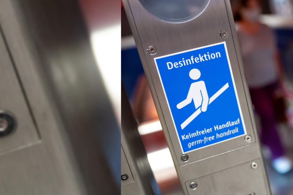 Deutsche Bahn beschichtet Aufzugknöpfe und Handläufe mit Anti-Corona-Lack