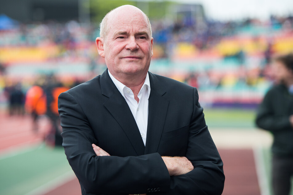 Siegfried Dietrich, Manager des 1. FFC Frankfurt.