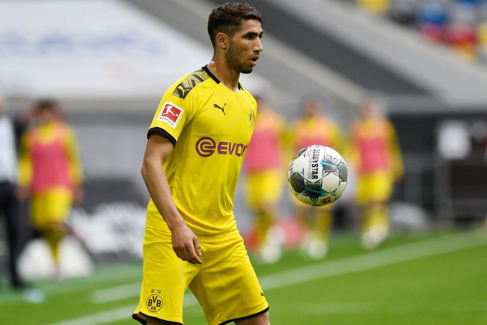 Bereits beim BVB spielte sich Hakimi in die Notizblöcke einiger europäischer Topklubs.