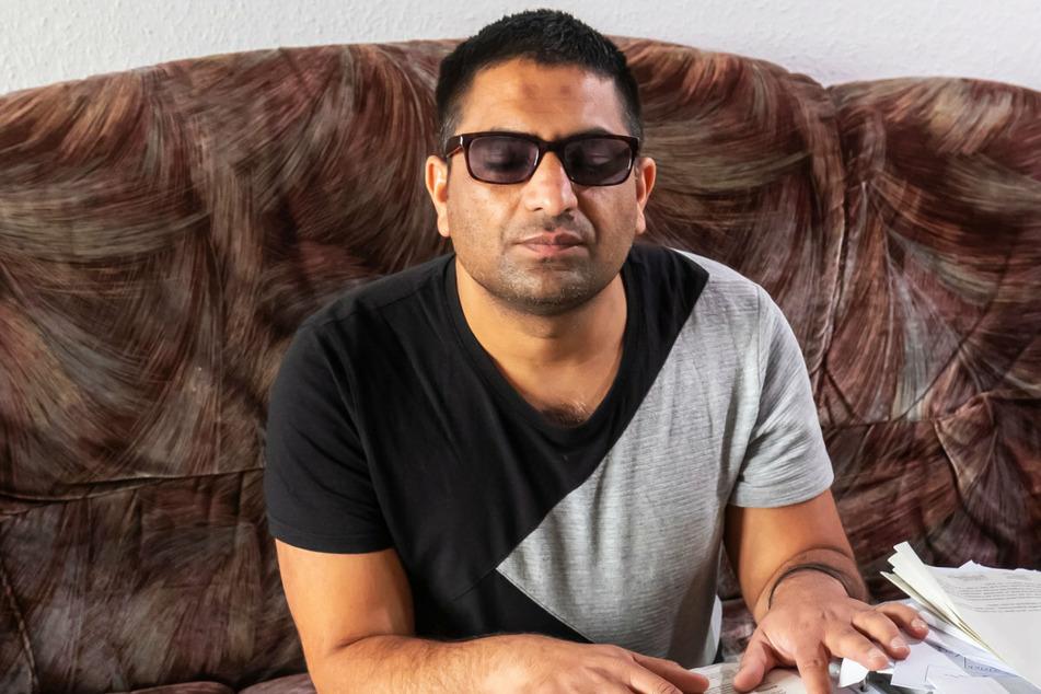 Chemnitz: Abschiebung droht: Blinder Flüchtling kämpft für Härtefall-Regelung