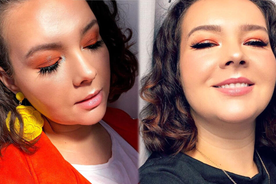 Die Montage zeigt Screenshots aus dem Instagram-Profil von Plussize- und Fashion-Bloggerin Brittney Johnston.