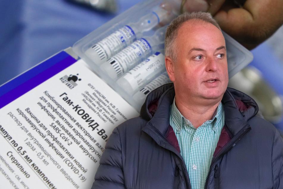 """Unmoralisches Angebot: Scheich-Enkel will Bürgermeister Mirko Ernst mit """"Sputnik V"""" impfen"""