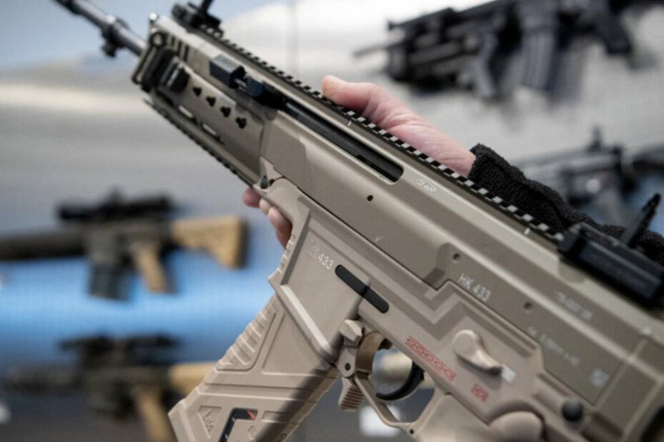 In dem Gewehr befand sich glücklicherweise keine Munition. (Symbolbild)