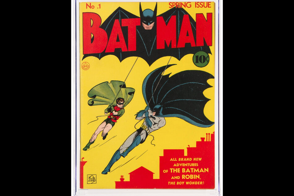 Batman comic from 1940 auctioned for $2.2 million