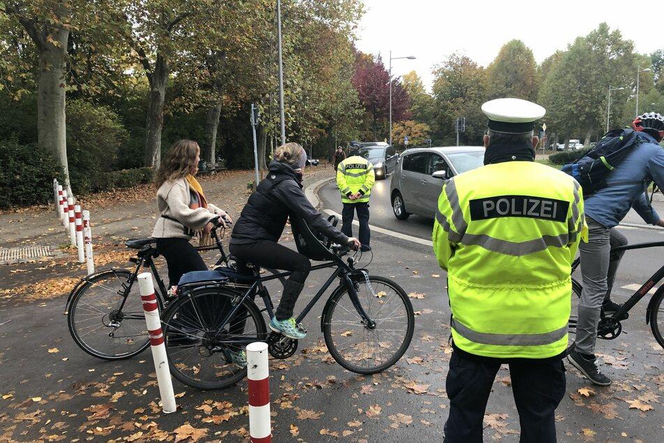 Im Fokus stand die Sicherheit von Radfahrern. Am Ende des Tages wurden zahlreiche Strafen verteilt.