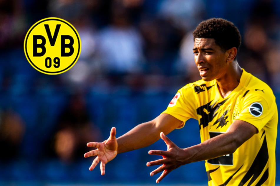 BVB-Youngster Bellingham beeindruckt bei seinem Debüt nachhaltig!