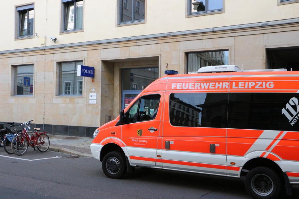 Am Mittwochabend kam es zu einem Gefahrguteinsatz im Polizeirevier in der Ritterstraße.
