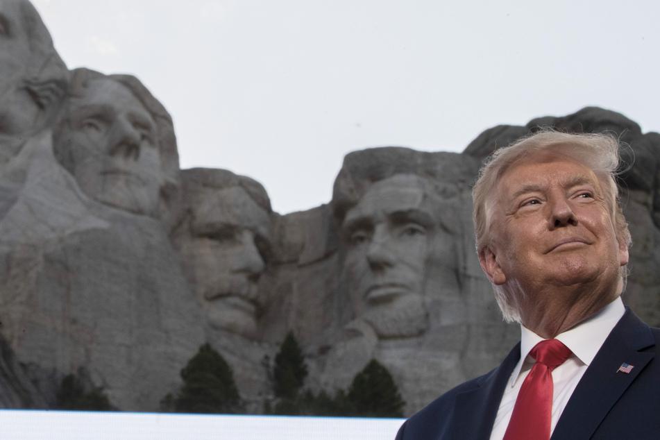 "Donald Trump bald im Mount Rushmore verewigt? Klingt nach ""guter Idee"""