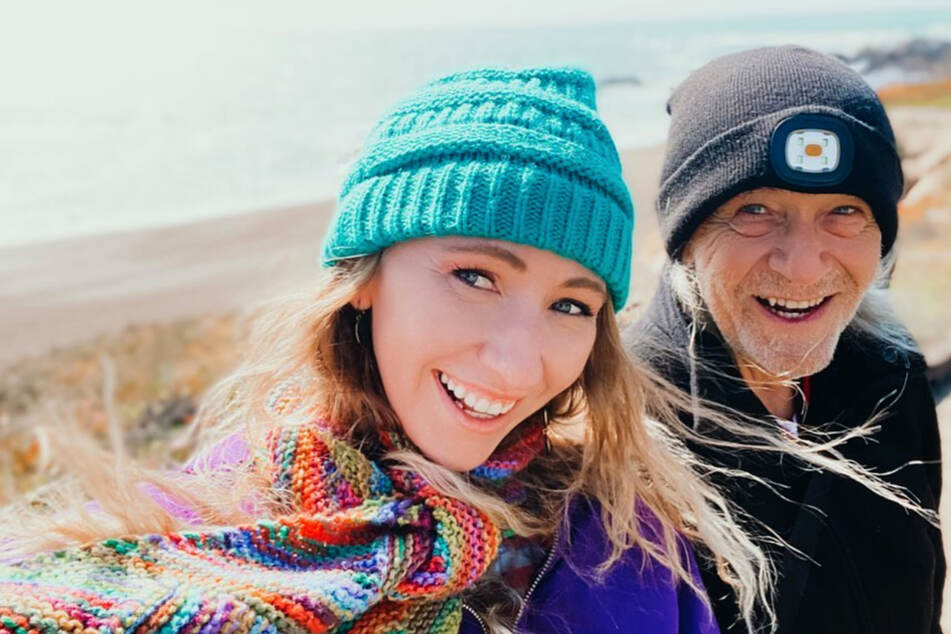 Kelsey Hopeful (28) and Guy BonGiovanni (76) met in a yoga class.
