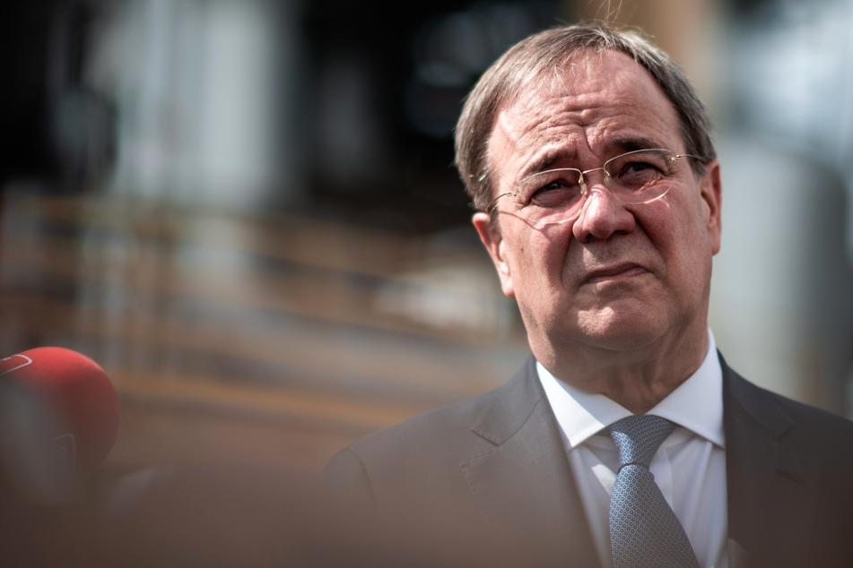 Der Ministerpräsident von Nordrhein-Westfalen, Armin Laschet (60, CDU).