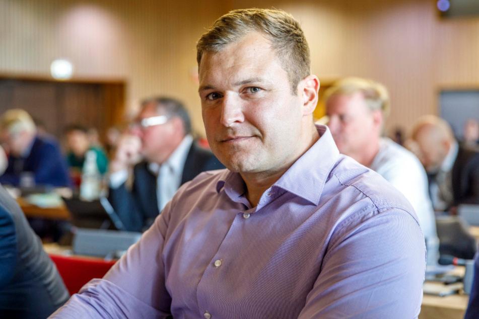 Stadtrat Thomas Ladzinski (31, AfD).