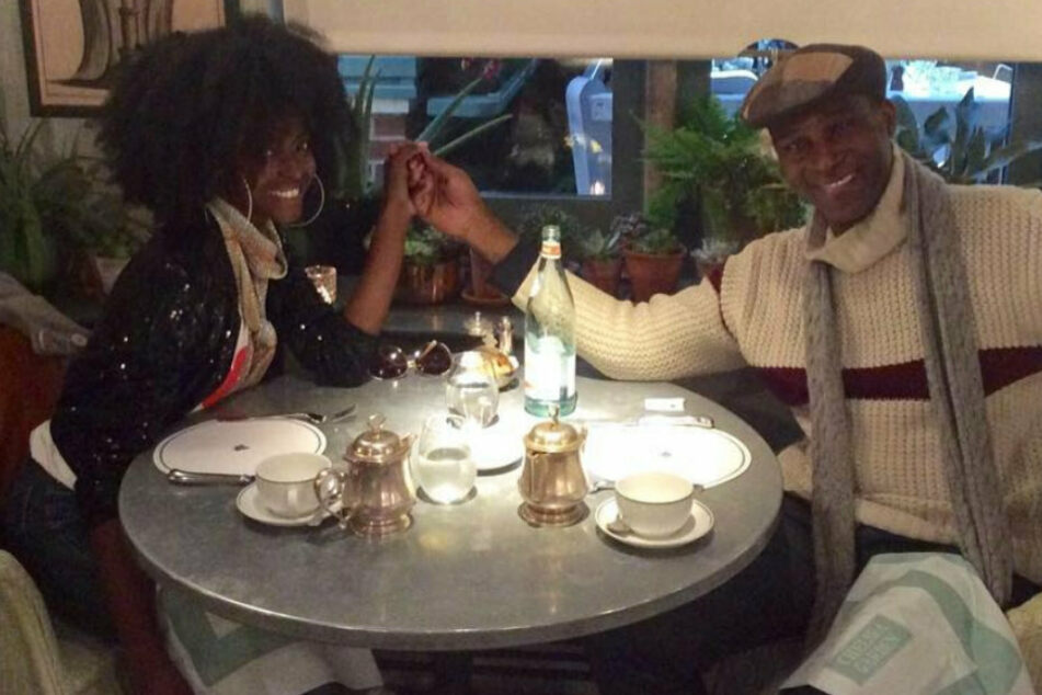 Keisha and Kunle had their first date in a restaurant in New York, but now they live in London and still enjoy eating out together.
