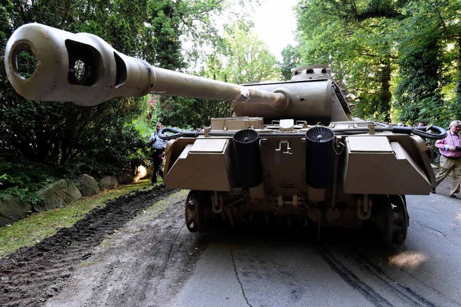Eigentümer von Weltkriegspanzer sammelte auch Schusswaffen
