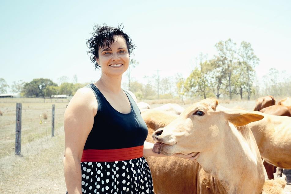 Auch Bäuerin Vivien aus Australien sucht den perfekten Partner.