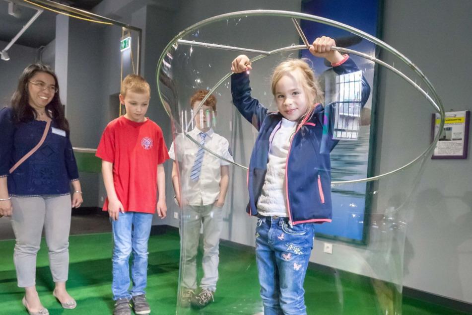 """Das Museum """"Phänomenia"""" bietet rund ums Wissen viel Spaß für Kinder."""
