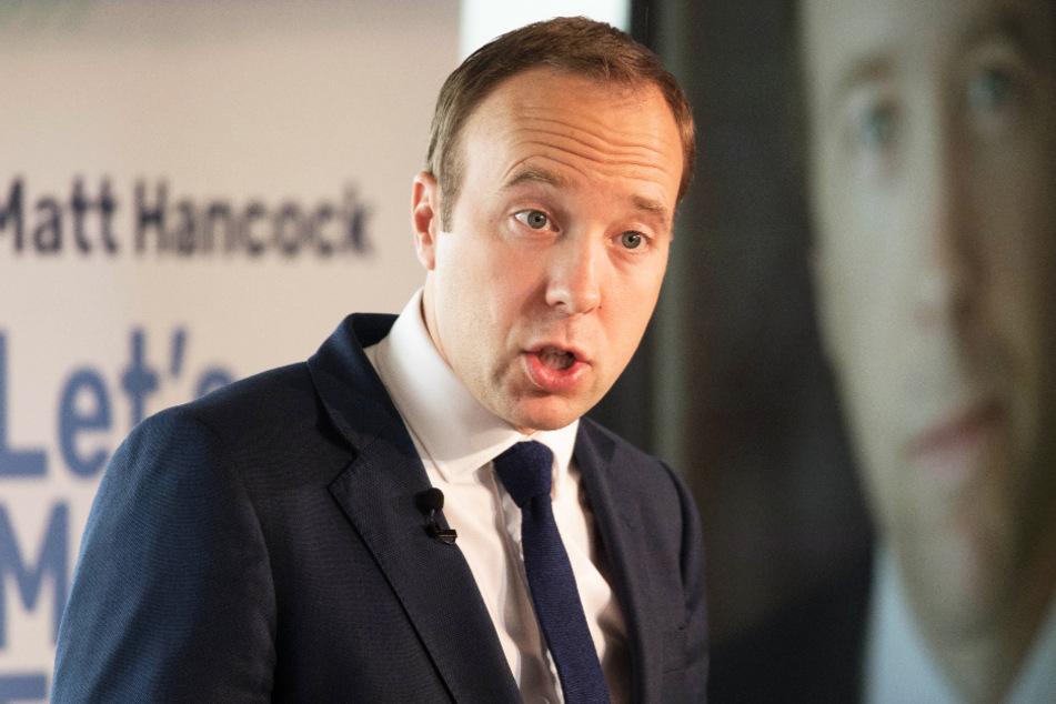 Großbritanniens Gesundheitsminister Matt Hancock stand im Mittelpunkt von Rooneys Kritik. (Archivbild)