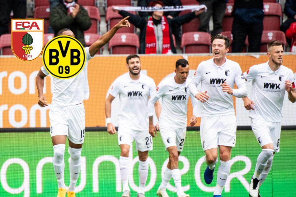 BVB kann Augsburg nicht knacken und kassiert auch wegen Ex-Schalker Caligiuri ärgerliche Pleite!