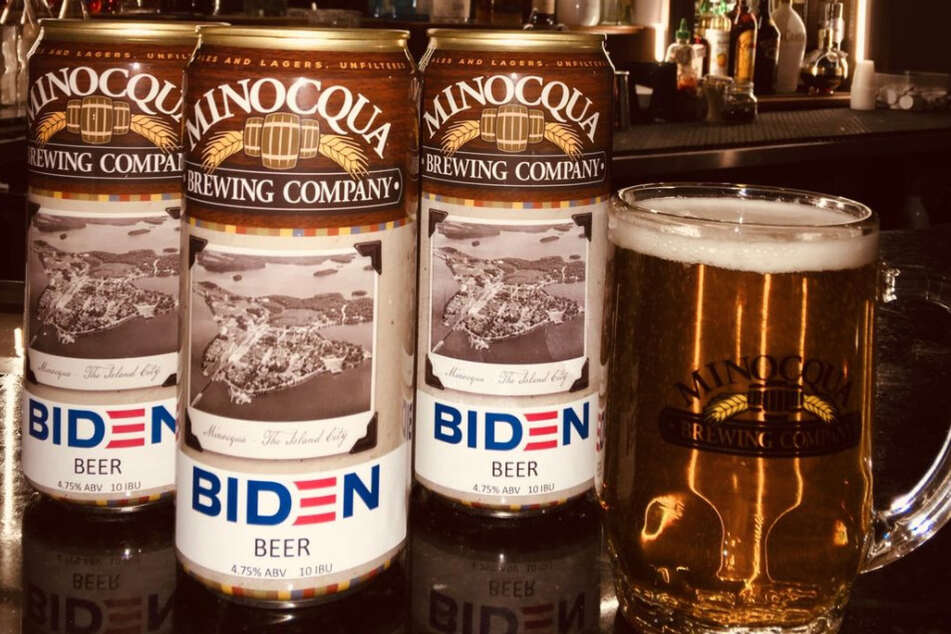 "Wisconsin brewery launches ""inoffensive"" Biden Beer"