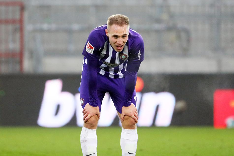 Wechselt vom FC Erzgebirge Aue in die 1. Bundesliga: Florian Krüger (22).
