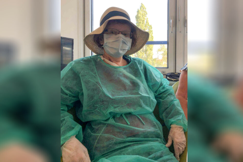 Auch während der Chemotherapie musste sich die Leipzigerin schon vor einer Ansteckung hüten.