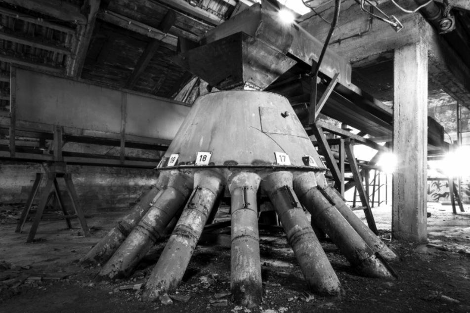 Ein verlassenes Mühlenwerk in Bad Lausick. Seit 1993 steht das Gebäude leer.