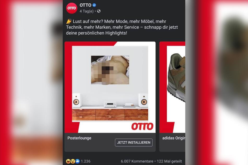 Diese Werbeanzeige wurden offenbar Tausenden Facebook-Nutzern angezeigt.