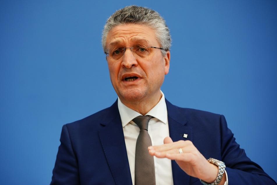 RKI-Präsident Lothar Wieler (60).