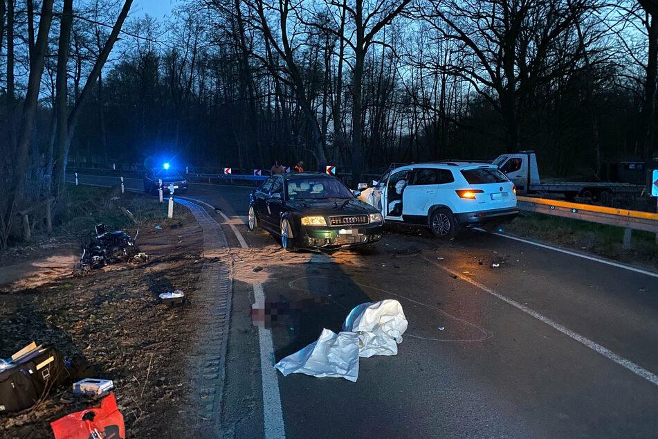 Motorradfahrer stirbt bei Frontal-Crash mit Auto