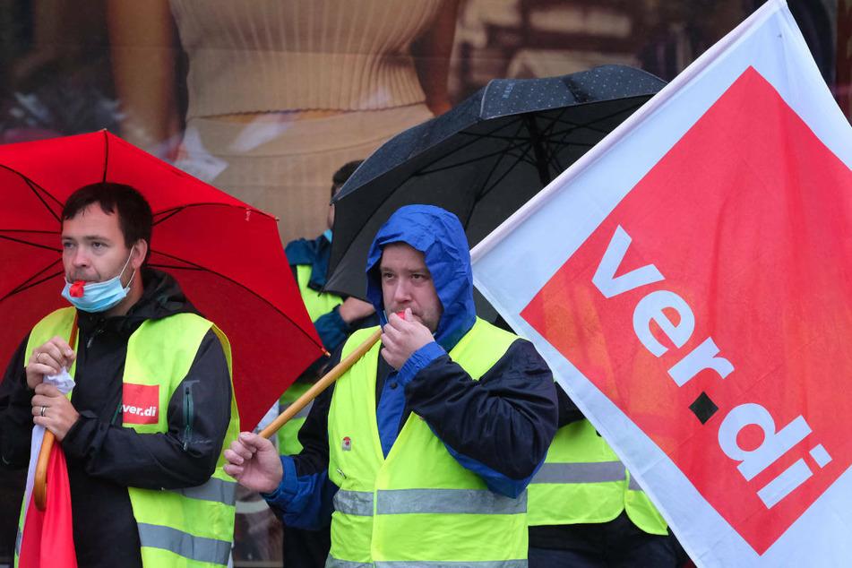 In Berlin und Brandenburg wird für höhere Löhne gestreikt. (Archivfoto)