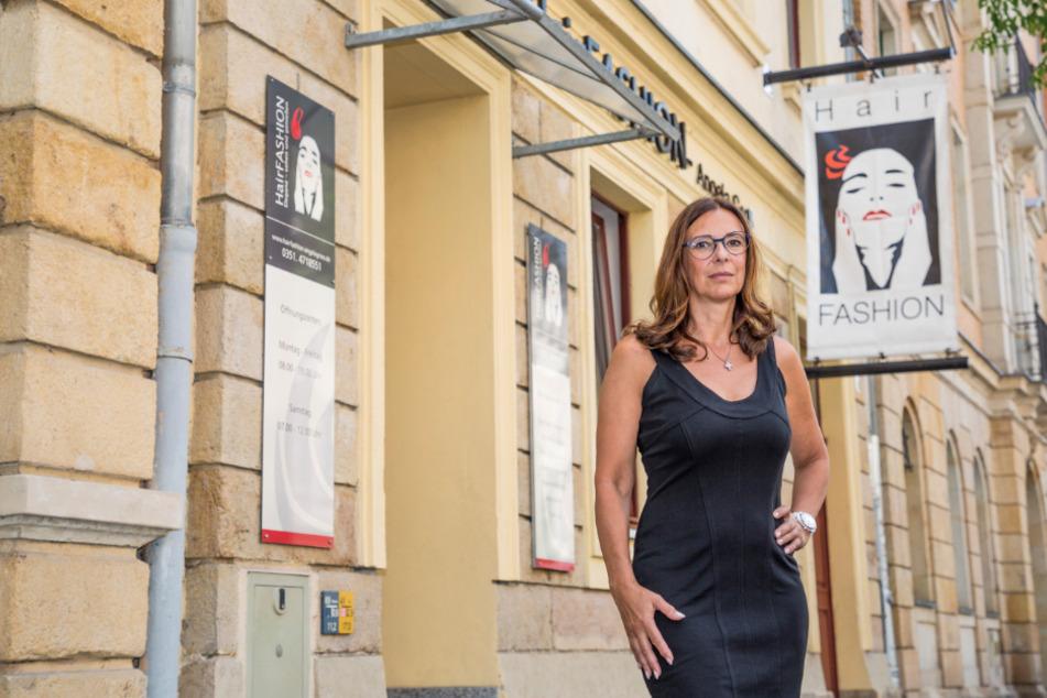 Sorgt sich um die Zukunft ihres Handwerks: Friseur-Meisterin Angela Groß (54).