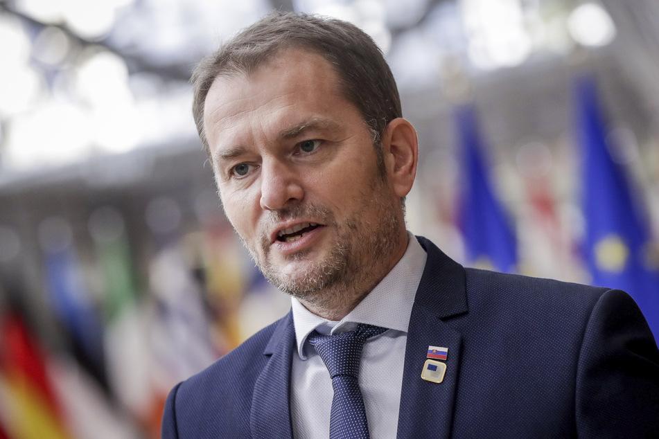Igor Matovic, Ministerpräsident der Slowakei. Das Land will fast das gesamte Volk innerhalb von vier Tagen auf Corona testen.