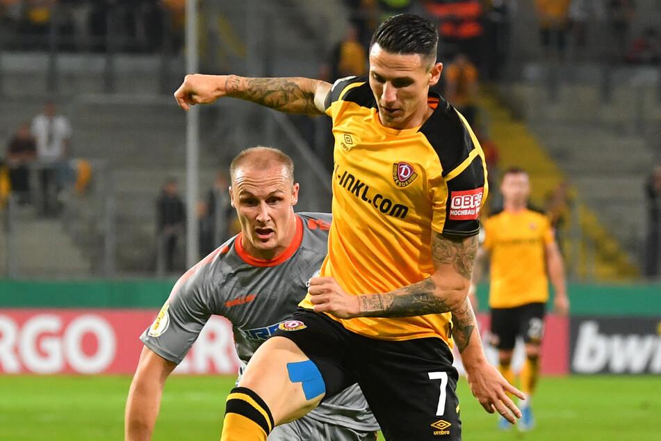 Diese Dynamik von Panagiotis Vlachodimos (29) werden die Dynamo-Fans lange nicht sehen. Er zog sich in Darmstadt einen Kreuzbandriss im linken Knie zu.