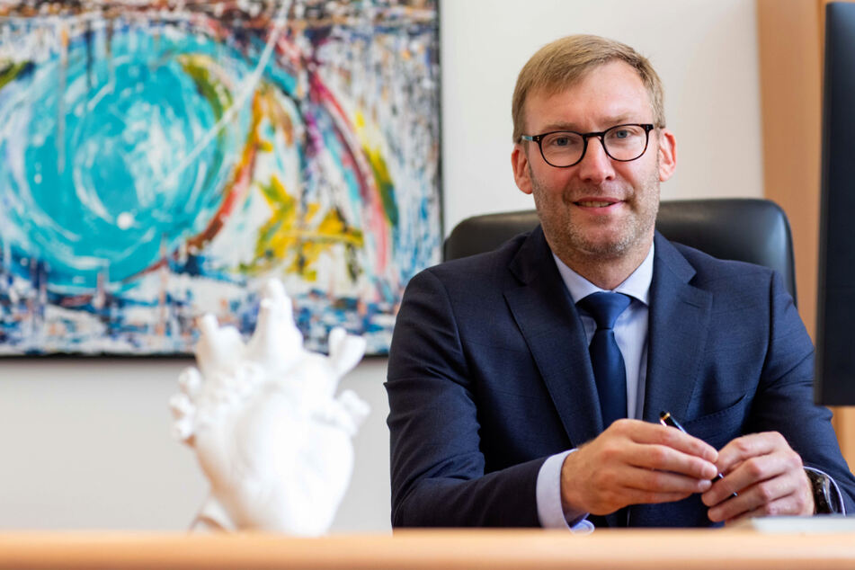 Seit 1. April ist Jörg Scharfenberg (46) der Geschäftsführer des Herzzentrums.