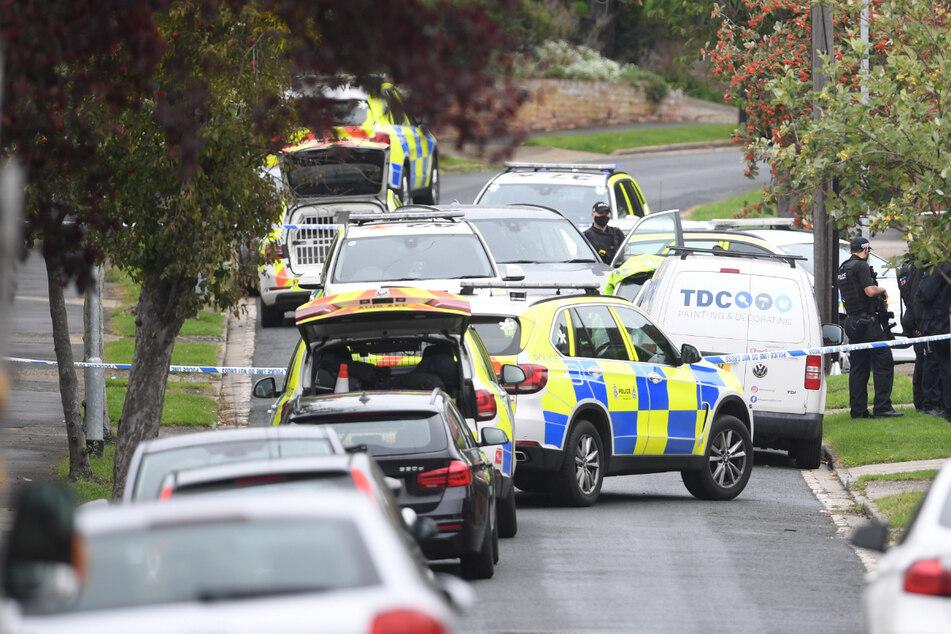 English teenager shot on his way to school